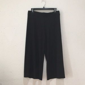 Eileen Fisher Petite Small Culotte Pants Black